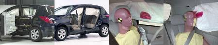 Nissan Versa 2007 models SIDE IMPACT TEST