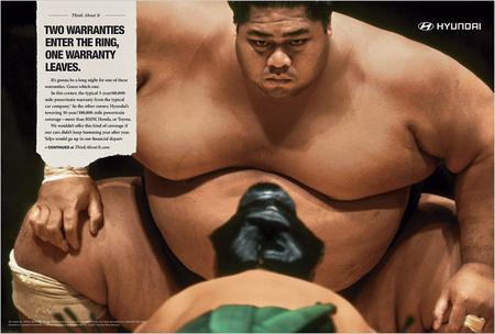 ヒュンダイの広告