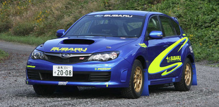 IMPREZA WRX STI 2008 FIA Group N Rally Car