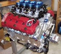 H1 V8 engine