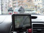 赤信号で停車時に撮影
