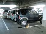 某ショッピングセンター駐車場にて